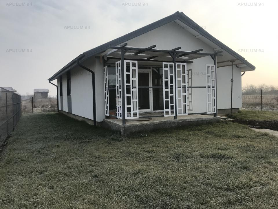 Casa in Clinceni pe parter, 4 camere, suprafata de teren 407mp, suprafata construita 123mp