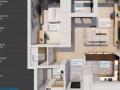 Apartament 2 camere bloc nou 62mp Buna Ziua