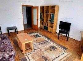 Apartament 3 camere mobilat si utilat la 5 minute de metroul Piata Muncii