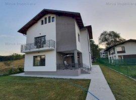 Vanzare vila 6 camere, la poalele dealului, zona Muscel, Campina