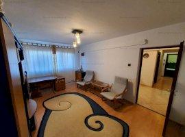 Vanzare apartament 3 camere, mobilat si utilat, zona Bld. Bucuresti
