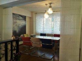 Dorobanti: apartament 4 camere, parter