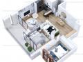 Vanzare Apartament 3 Camere LUX-Piata Presei