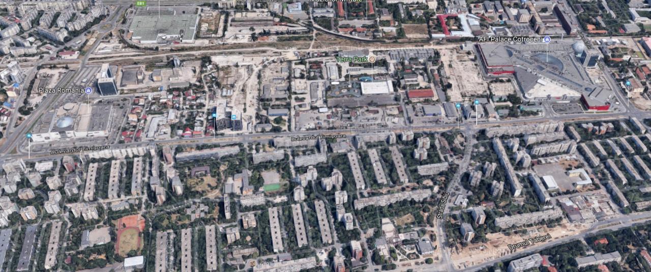 Teren Drumul Taberei Plaza Romania (POT 70%, CUT 3)