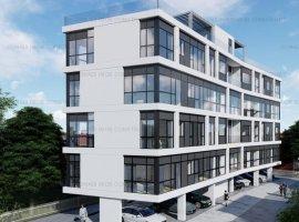 Herastrau - Baneasa Lac: apartament lux, 2018, loc parcare si boxa