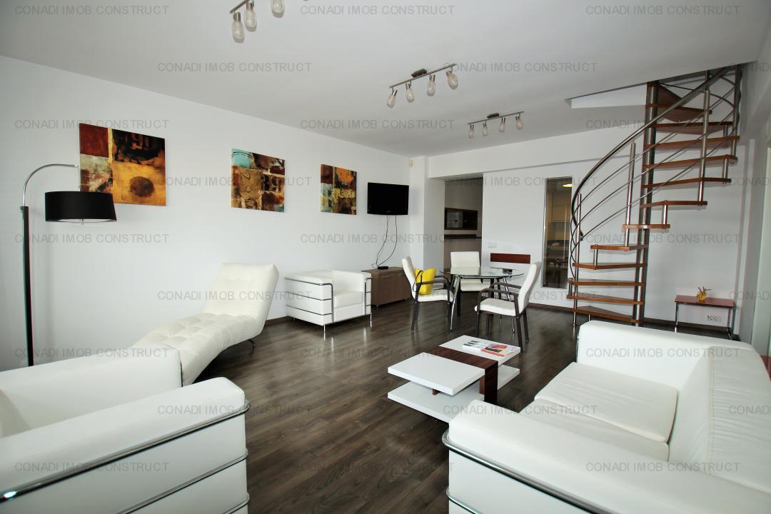 Mihai Eminescu: penthouse duplex, terasa generoasa 130 mp