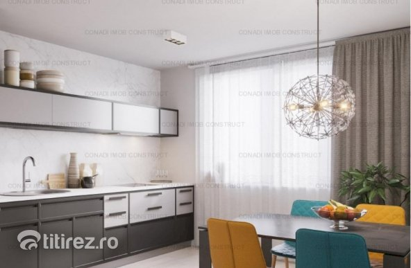 Apartament 3 camere in zona Herastrau in bloc boutique