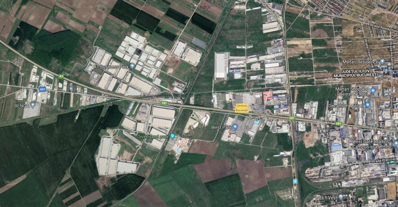 Spatiu industrial (hala si birouri) A1