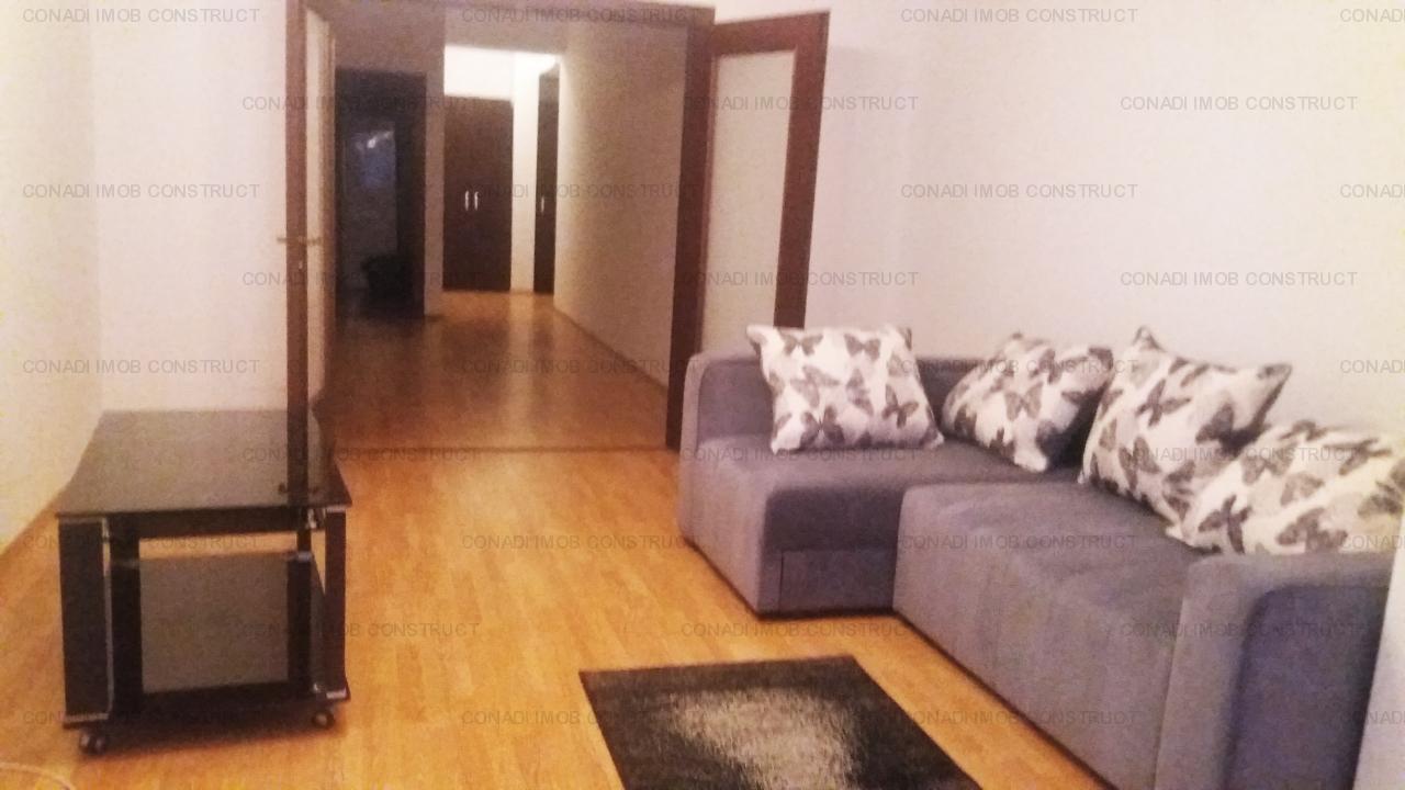 Kiseleff, apartament 3 camere mobilat