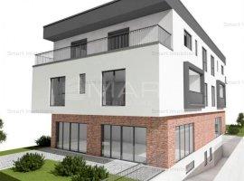 Apartament 5 camere 168 mp, cu gradina 100 mp, Europa