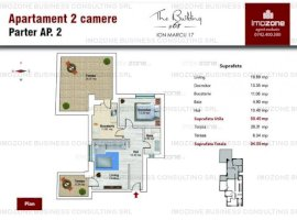 Apartament 2 camere 94mp decomandat Dr. Taberei - Plaza Mall Comision 0%