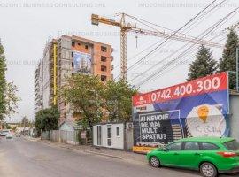 Apartament 2 camere + balcon 10 mp, 62 mp, Militari Pacii, vedere panoramica