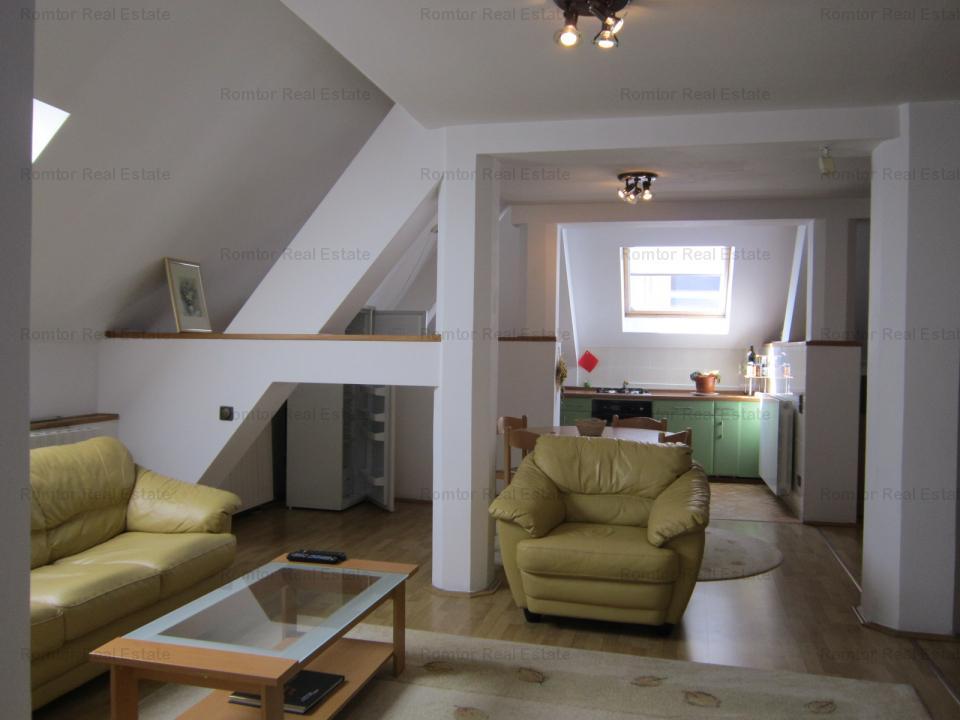 Dorobanti- Capitale apartament 2 camere 100mp mobilat