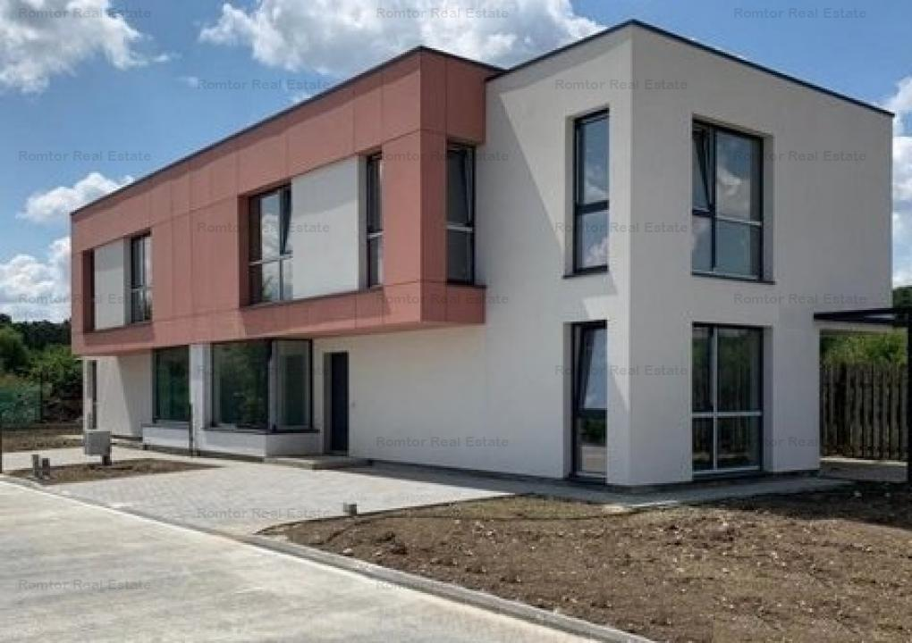 Corbeanca, miniansamblu rezidential securizat, constructie 2017, liber