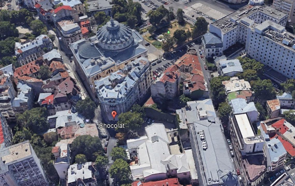 Calea Victoriei-Ateneul Roman, open space, amenajat, grup sanitar.