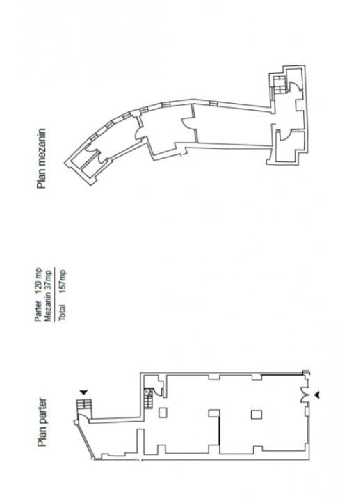 Piata Unirii, Bd. I.C.Bratianu, 157 mp, stradal, trafic pietonal intens