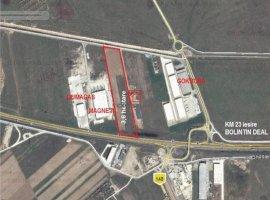 Vanzare teren constructii 36000 mp, Bolintin-Deal, Bolintin-Deal