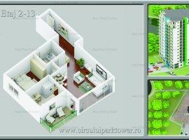 Apartament 2 camere Stefan cel Mare, in Parcul Circului