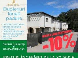MOGOSOAIA - APARTAMENT IN DUPLEX 2019 CU GRADINA, TERASA SI PARCARE!
