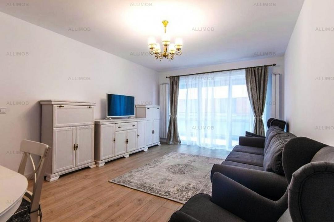 2-room apartment in residential compound, Pipera