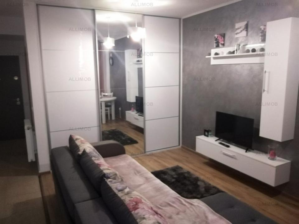 Studio apartment in NEW BLOCK, in Ploiesti, area 9 May