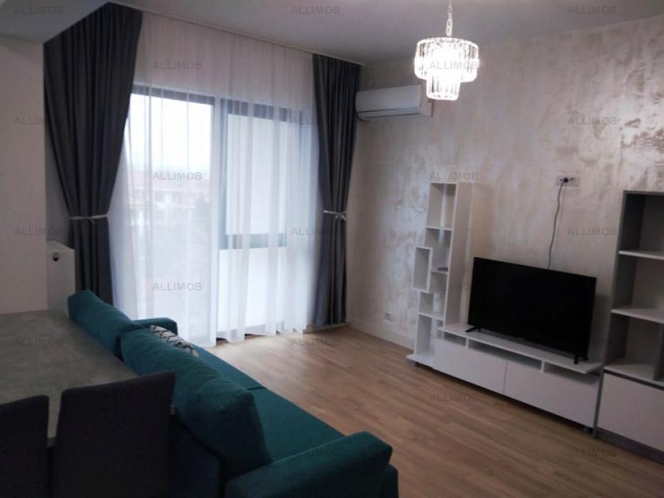 Apartment 2 rooms in a new block of flats for rent in Ploiesti, Albert area.