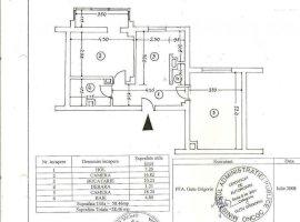 Comision zero, apartament 2camere-58.5mp, zona Cantacuzino, Ploiesti