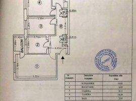 Apartament 3 camere, decomandat, zona Malu Rosu, Ploiesti