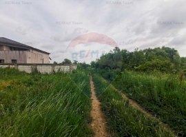 Teren 1100mp (2 loturi de 550mp) pentru casa Dascalu zona retrasa