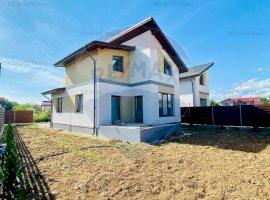 Vila individuala 4 camere de vanzare (dormitor parter) in Ciorogarla