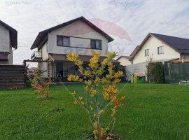 Vila individuala 4 camere cu gradina cocheta 600mp in Domnesti