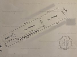 NOU| 3151mp TEREN CONSTRUCTII | ZONA SUPERBA PADURE| NEGOCIABIL