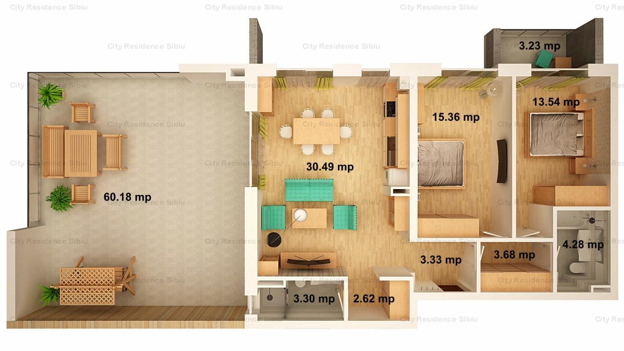 https://cityresidence-sibiu.ro/ro/vanzare-apartments-3-camere/sibiu/apartament-3-camere-arena-village-etaj-retras-tip-6_130