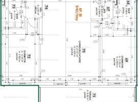 Apartament 3 camere | Model Tip 1 | 63.70 mp | 12 C
