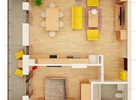 Apartament 2 camere | 49 mp | Imobil cu lift