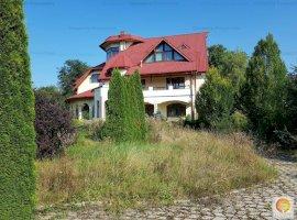 Vanzare vila de 9 camere, teren 3179 mp, in Breaza - jud. Prahova