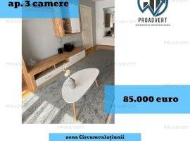 Apartament spatios, confort unu sporit, zona Circumvalatiunii