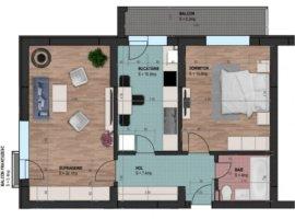 Vanzare apartament cu 2 camere zona Parcul Carol, Bucuresti