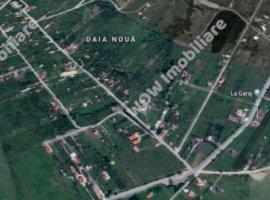 Vanzare teren constructii 1000 mp, Daia, Daia