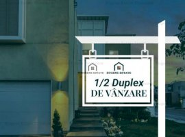 1/2 duplex, 4 camere, finisaje premium, Mosnita Veche.