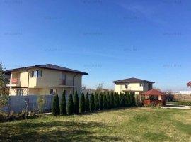Vila in Mihailesti, Giurgiu, P+1, suprafata utila 170mp, teren 500mp, finisata la cheie, utilitati.