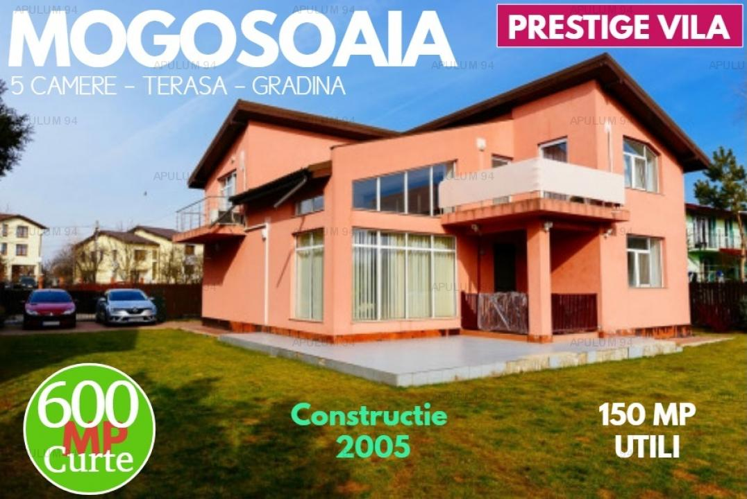 Vila Ultra-Moderna in Mogosoaia cu 600 MP de teren