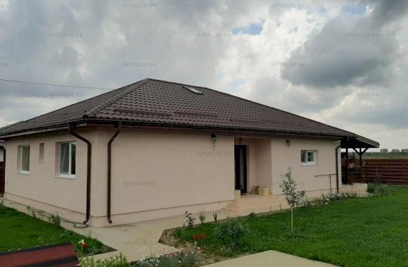 Casă 140 mp, curte 518 mp, Săbăreni, lângă Bucuresti