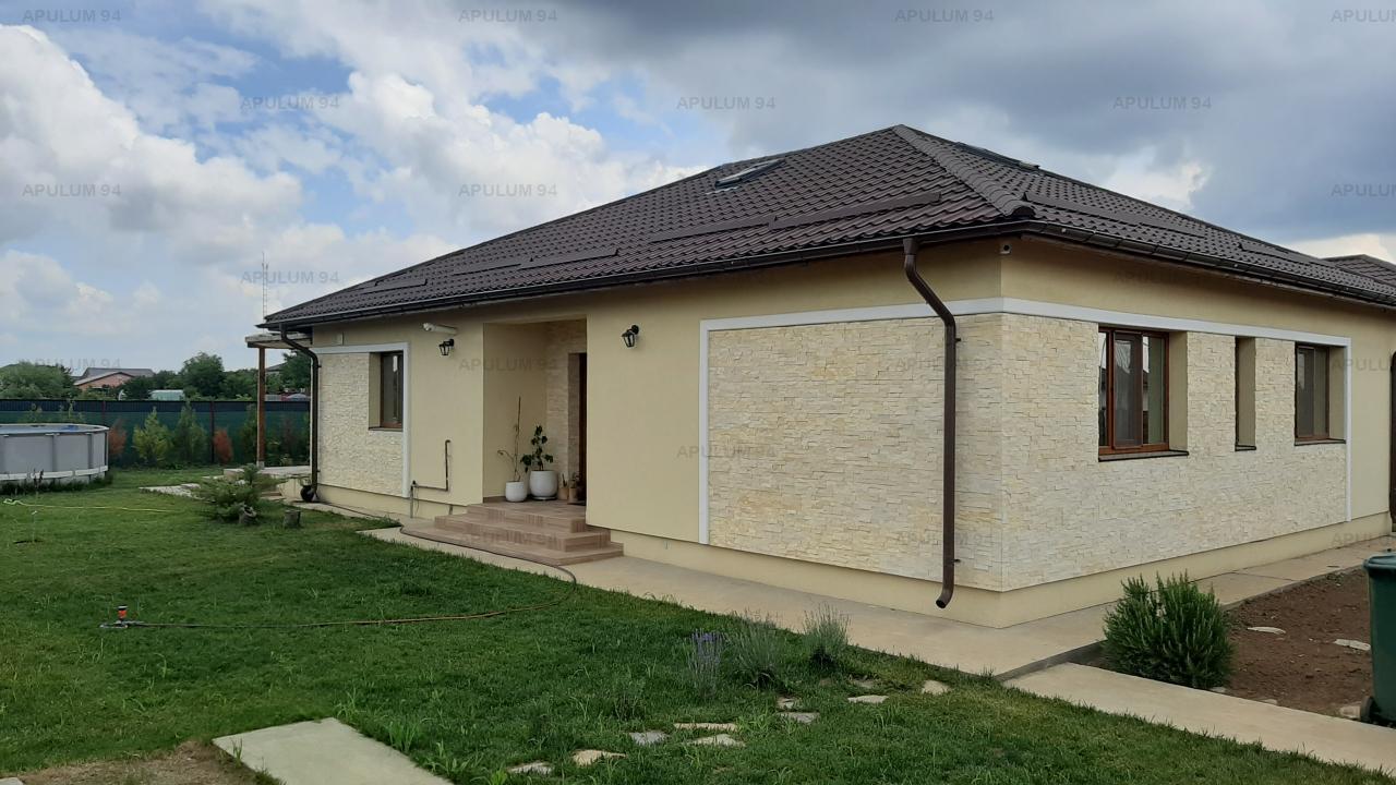 Casă 4c parter 112 mp utili, curte 518 mp, Săbăreni, lângă Bucuresti