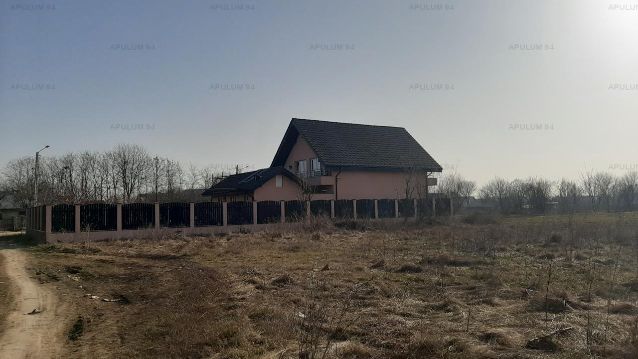 Loc de casă, în Săbăreni, lângă București