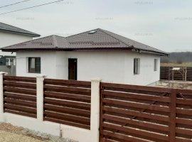 Săbăreni, casă nouă 3 camere și dependințe, curte 535 mp