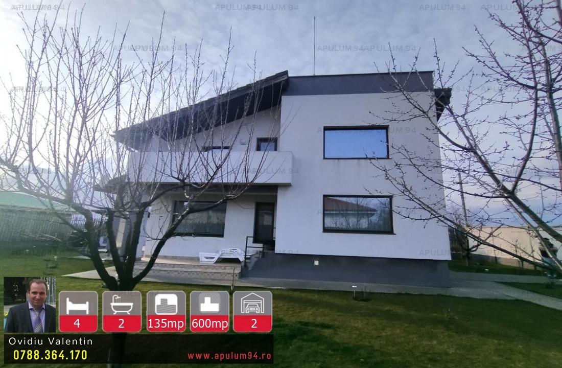 Vila Moderna cu 4 Camere si 600 mp Teren in Crevedia