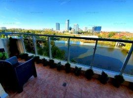 Apartament Exclusivist Floreasca Lac, vedere superba, Parcare 32mp