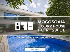 Vila Ultramoderna cu 8 Camere Piscina si 2000 Mp Teren in Mogosoaia