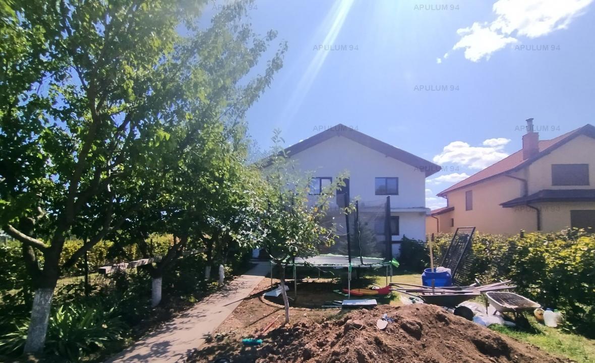 Casa cu 8 Camere 650 Mp Teren si Toate Utilitatile in Buftea